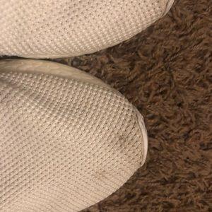 adidas Shoes - Triple white/cream Adidas NMDs. Size 7